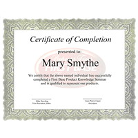 Certificats St. James