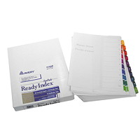 Avery Ready Index Durable Table of Contents Dividers