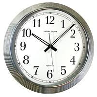 Horloge ronde de 16 po Timekeeper