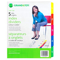 Grand & Toy Index Dividers