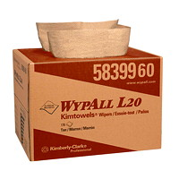 WypAll L20 Natural Kraft Kimtowels Wipers
