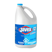Clorox Javex 12 Bleach, 5 L, 3/CS