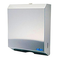 Frost Wall-Mountable Multifold and C-Fold Paper Towel Dispenser