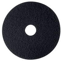 3M 7300 High-Productivity Stripping Pads, Black, 20
