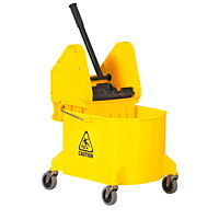 Vileda Professional Down Press Bucket/Wringer Combo