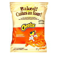 Baked! Snack Chips, Cheetos Crunchy, 32 g, 40/CT