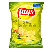 Lay's Potato Chips, Dill Pickle, 40 g, 40/CT
