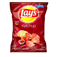 Lay's Potato Chips, Ketchup, 40 g, 40/CT