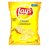Lay's Potato Chips, Classic, 40 g, 40/CT