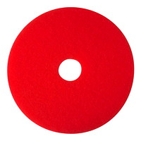 3M 5100 Buffer Pads, Red, 20
