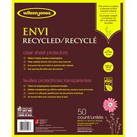 Wilson Jones Envi Recycled Letter-Size Sheet Protectors