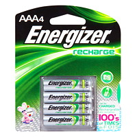 Energizer NiMH Rechargeable Batteries