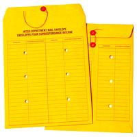 Enveloppes pour correspondance interne recto-verso en papier kraft Quality Park