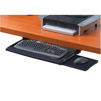 Fellowes Office Suites Deluxe Keyboard Drawer With Soft-Touch Wrist Rest
