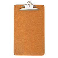 Grand & Toy Standard Masonite Clipboard, Legal-Size, 9