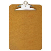 Grand & Toy Standard Masonite Clipboard, Letter-Size, 9