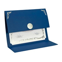 St. James Elite Medallion Fold Certificate Holder
