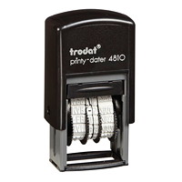 Trodat Printy 4810 Pocket-Size Self-Inking Dater