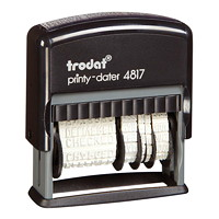Trodat Printy 4817 Self-Inking Dial-A-Phrase Stamp