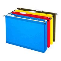 Dossiers suspendus renforcés SureHook Pendaflex, couleurs variées, format lettre, capacité de 31/2po, emb. de 4