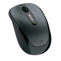 Microsoft Wireless Mobile Mouse 3500, Black (GMF-00009)