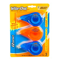 Bic Wite-Out EZcorrect Correction Tape