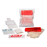 First Aid Biohazard Clean-Up Spill Kit