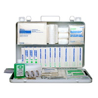 SAFECROSS Unitized Workplace First Aid Kit with Metal Cabinet, Saskatchewan