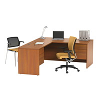 Global Adaptabilities L-Shaped Workstation
