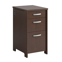 Bush Envoy 3-Drawer Pencil/Box/File Pedestal
