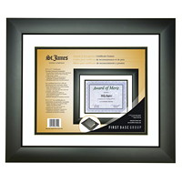 St. James Certificate Frame