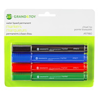 Grand & Toy Water-Based Pigmented Permanent Markers