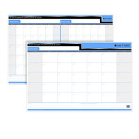 Day-Timer Flexible 30-Day/60-Day Undated Dry-Erase Calendar, 36