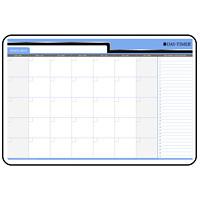 Day-Timer 30-Day Undated Dry-Erase Calendar, 36