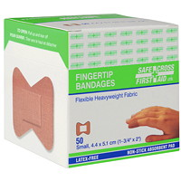 SAFECROSS Heavyweight Fabric Fingertip Bandages