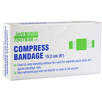 SAFECROSS Compress Bandage