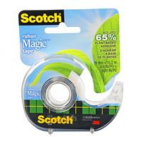 Ruban adhésif Magic à base végétale avec dévidoir rechargeable Scotch