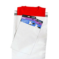 Poly Mailers/Courier Bags, White, 19