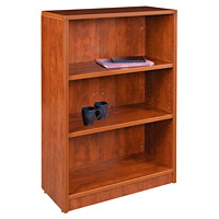 HDL 3-Shelf Autumn Maple Bookcase
