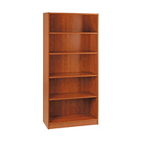 HDL 5-Shelf Autumn Maple Bookcase