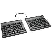 Kinesis Freestyle2 Convertible Keyboard, English, Black (KB800PB-US)
