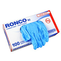 Ronco Nitrile Disposable Gloves