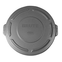 Rubbermaid Brute Flat 20-Gallon Container Lid, Grey,