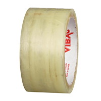 Vibac Industrial Grade Packing Tape, Clear, 48 mm x 50 m, 6/PK
