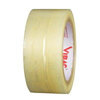 Vibac Industrial Grade Packing Tape, Clear, 48 mm x 100 m, 6/PK