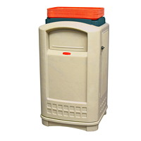 Rubbermaid Plaza Outdoor Refuse Container