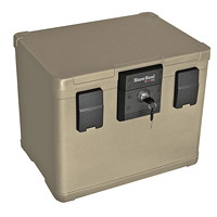 FireKing SureSeal Fire Chest, Taupe, 0.6 cu ft Capacity