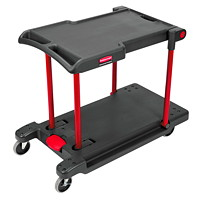 Chariot de service transformable Rubbermaid