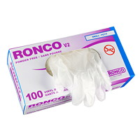 Ronco V2 Vinyl Disposable Gloves