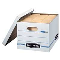 Bankers Box Basic-duty Stor/File Storage Box